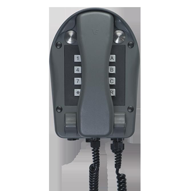 Nachrichtentechnik wasserdicht IP66 Industrietelefon A24