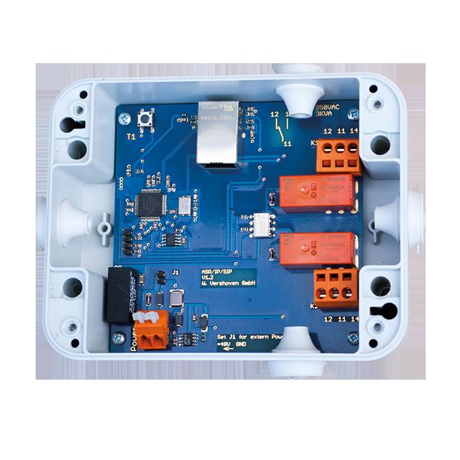 Nachrichtentechnik Anschaltrelais wettersicher IP66 ASR SIP/IP